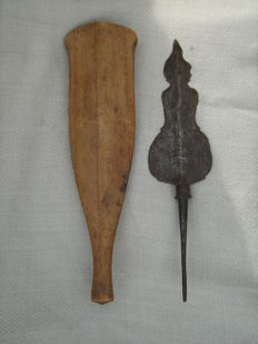 Antique kris in the shape of Semar - Java - Indonesia