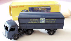 Dinky Toys-France - Scale 1/48 - Panhard tractor Semi-trailer SNCF No.32ab