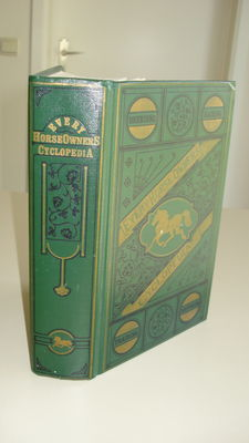 J. H. Walsh & John Elderken - Every Horse Owners' Cyclopedia Thoroughbred Near Fine Illustraded - 1871