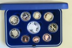 Italy – 2012 proof coin set (10 pieces including silver)
