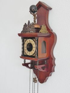 Zaandam clock with Regula movement – 2nd half 20th century