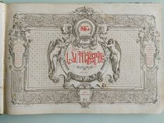 L 'Autographe - 24 issues in 1 volume - 1863/1864