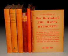 Max Beerbohm - a collection of 6 volumes - 1921/1953