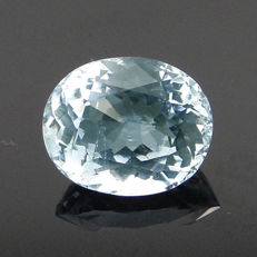 Greenish blue aquamarine – 3.12 ct