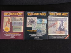 Accessories - various Krause catalogues banknotes (3 pieces).