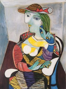 Pablo Picasso (after) - Portait of Marie Therese Walter