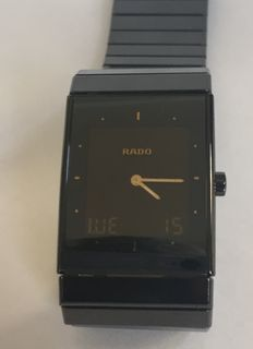 Rado ceramic men's wristwatch multifunction (analogue digital)