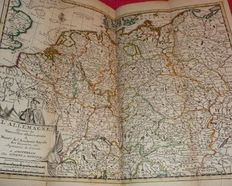 Atlas, Germany; Covens & Mortier - Pocket Atlas of Germany - 1740