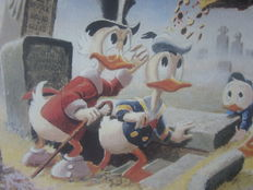 Carl Barks - Dubious Doings at Dismal Downs - Signed - (1986)