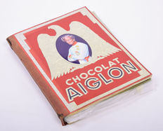 Picture card albums; Lot with 13 albums from the Bibliothèque du Chocolat Aiglon / Bibliotheek van de Aiglonchocolade - 1940 / 1950
