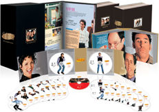 Seinfeld: The Complete Series - DVD - 2009 - Limited Edition - Coffee table book edition