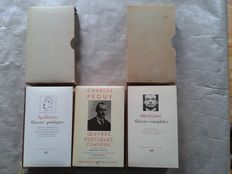 Apolinaire - Oeuvres poétiques -& Charles Péguy - Oeuvres Poétiques complètes & Alfred Jarry - Oeuvres complètes Volume 1 - 3 volumes - 1962/1983