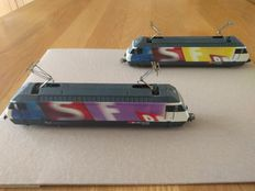 Märklin H0 - 34618 - Double set Electric locomotive Series Re 460  of the SBB