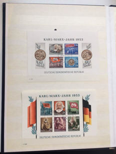 GDR of East Germany 1948 / 1985 - a small collection
