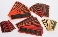 60 Magic Lantern slides, 5 Series, Bing, Plank and others, ~1900