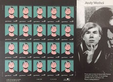 Andy Warhol (after) - USA 37 Cent Stamps