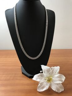 Silver gourmet necklace 835 kt