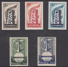 United Europe 1952/1956 - Two series
