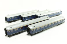 Roco H0 - 44284/44289 - 5 Pieces Plan D Carriages of the NS