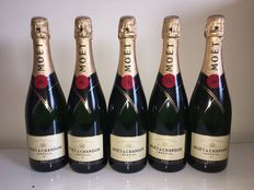 Champagne Moët Chandon Imperial Brut – 5 bottles
