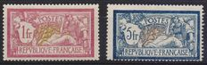 France – selection of mint stamps – ordinary mail, airmail and tax stamps
