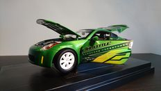 "Ertl - Scale 1/18 - 2003 NISSAN 350Z FROM 'FAST AND FURIOUS: TOKYO DRIFT ""FullThrottle"""