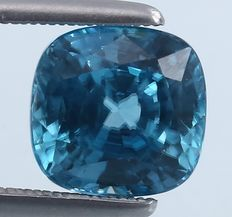 Blue Zircon - 7.18 ct.