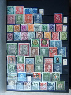 BDR Germany 1949/1996: partially double extensive collection, including blocks