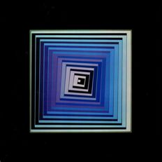 Victor Vasarely - Vonal (two works)