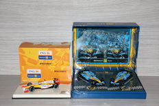 Minichamps/Norev - Scale 1/43 - Lot with Renault F1 Team Showcar 2009 & Renault  F1 World Championship 2005