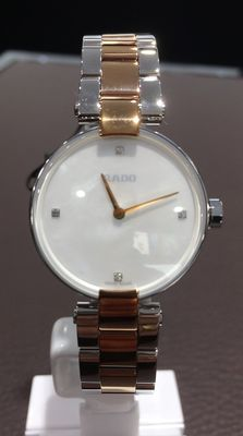 Rado - Coupole Mother of Pearl Diamond Dial Ladies Watch