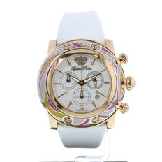 GlamRock Miami chronograph, women's wristwatch