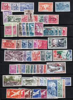 Cameroon 1916/1939 –  Between Yvert no. 67 and 275 with tax and air mail stamps