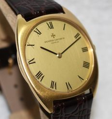Vacheron Constantin 18k solid gold thin watch ref 34005 - men's watch -1970's