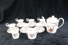 Royal Limoges France - coffee set, 17 pieces