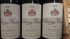 2008 Chateau Musar from Libanon x 6 bts