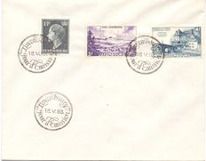 Luxembourg 1947 to 1957 – Selection of FDC Postcards and Envelopes.