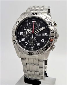 Festina Chronograph – men's wristwatch – approx. 2013, never worn