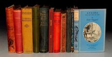 H. Rider Haggard - Large Rider Haggard lot of early editions - 11 volumes - 1886/1957