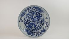Blue and White dish - China - circa 1600