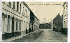 Belgium Belgique 101x city and village views period:1900-1935