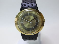 Omega Genève Dynamic  Gold-Steel Men's Watch 1970's