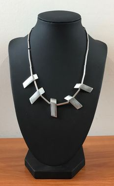 Silver necklace, 925k