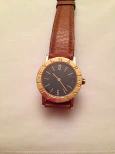 Bulgari gold watch - BB 30 GL - Men's / unisex watch - BB