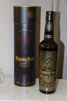 Flaming Heart 5th Edition Compass Box