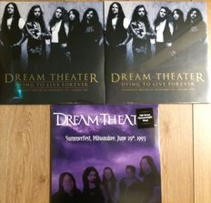 Dream Theater ||  Lot of 3 LP's || Still in sealing || Live recordings