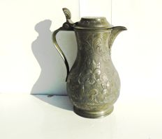 Pewter pitcher - 19th century