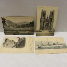 Several countries-Collection cathedrals-churches-monasteries-period: 1900/1950-193 x
