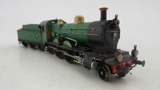 "Artitec H0 - 21.220.02 - Museum steam locomotive with towed tender Series SS700/3700 ""Jumbo: 100 Years NS 3737"" of the NS"