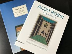 Aldo Rossi; Lot with 2 books - 1992/2015